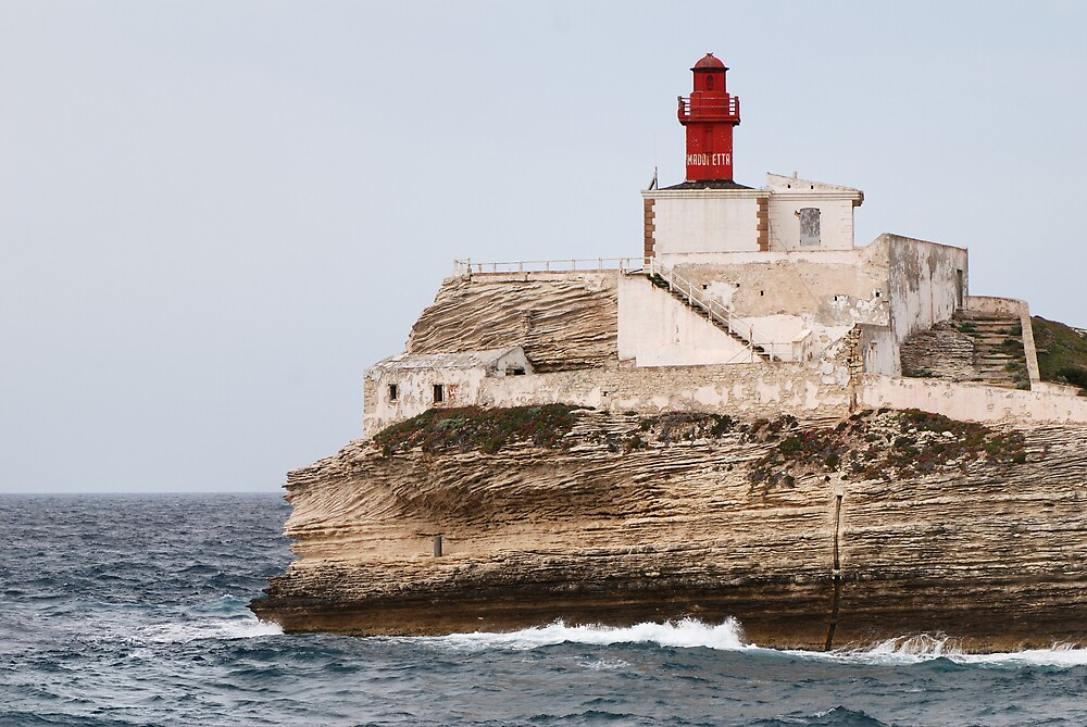 lighthouse in south Corsica by lochef