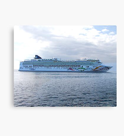 Norwegian Pearl Canvas Print