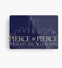 Pierce & Pierce Metal Print