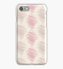 Luxury pink ornamental pattern iPhone Case/Skin