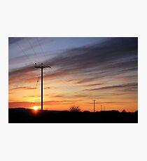 Wires. Photographic Print