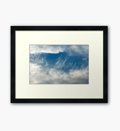 A Window of Heaven Framed Print