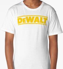 BEST SELLER SG113 T Shirt T Shirt Dewalt Power Heavy Tools Bohrer Air Kreisformige New Product Long T-Shirt