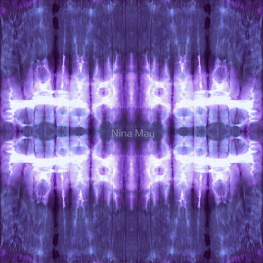 Shibori Viola by Nina May