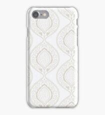 Luxury ornamental floral wallpaper iPhone Case/Skin