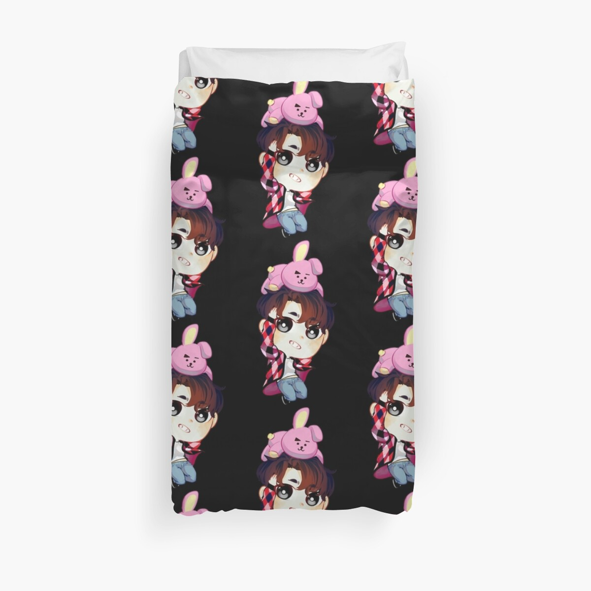 Quot Bts Bt21 Jungkook Quot Duvet Covers By P0zuda Redbubble