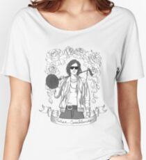 Julian Casablancas (Black & White) Women's Relaxed Fit T-Shirt