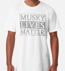 Camiseta larga Musky Lives Matter Muskie Divertida novedad de pesca