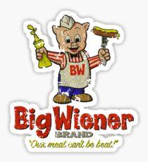 Big Wiener Brand Sticker