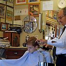 Visit to the Barber Shop by Bonnie T.  Barry
