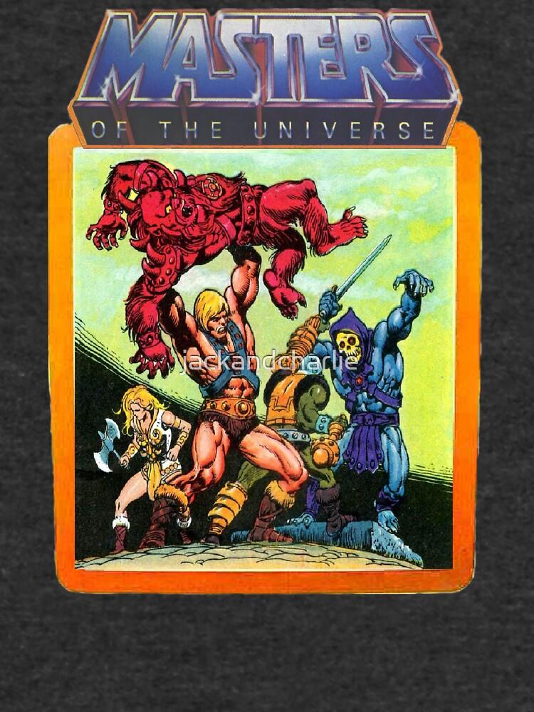 Escena de batalla de maestros del universo He-Man de jackandcharlie