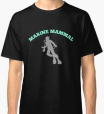 Scuba diving Marine Mammals Classic T-Shirt