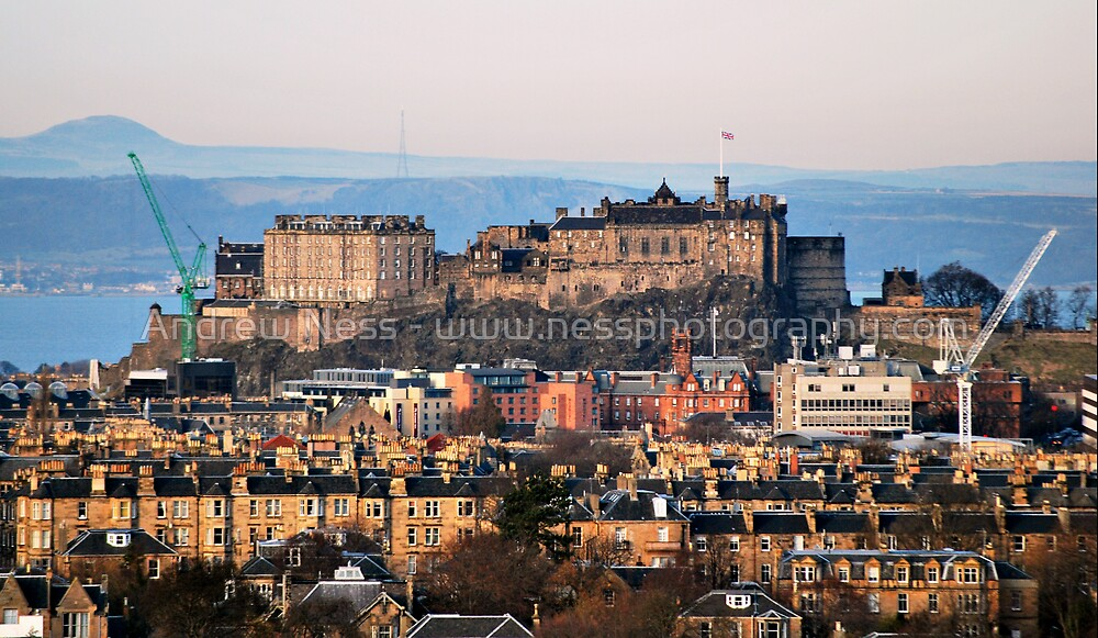 Edinburgh Castle - the other side. by Andrew Ness - www.nessphotography.com