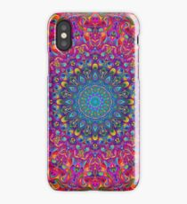 Mandala 7 Color Version A iPhone Case/Skin