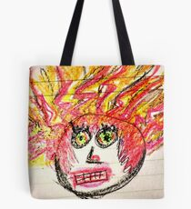 Harriet Hair-On-Fire Tote Bag