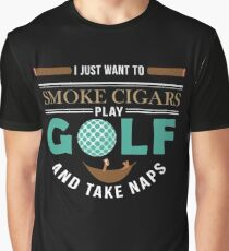 Golft Cigar Gift| Cigar Gift For Men | Cigar Gift For Him | Cigar Gift for Dad | Unique Cigar Gifts | Cigar Shirt | Birthday Cigar Gift | Cigar Lovers  Graphic T-Shirt
