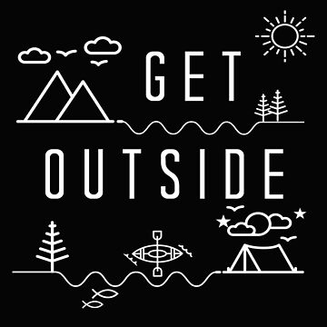 Get Outside Line Art Icons by BookeryBoutique