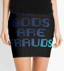 All gods are frauds Mini Skirt