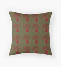 Cojín Baobabs lindos rojos