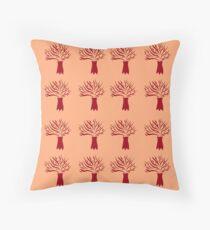 Cojín Cute baobabs pink ethno
