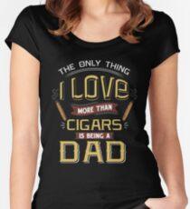 Cigar Gift for Dad   Cigar Gift For Men   Cigar Gift For Him   Cigar Gift for Dad   Unique Cigar Gifts   Cigar Shirt   Birthday Cigar Gift   Cigar Lovers  Women's Fitted Scoop T-Shirt