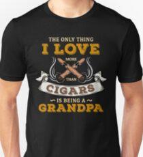 Cigar Gift for Grandpa | Cigar Gift For Men | Cigar Gift For Him | Cigar Gift for Dad | Unique Cigar Gifts | Cigar Shirt | Birthday Cigar Gift | Cigar Lovers  Unisex T-Shirt