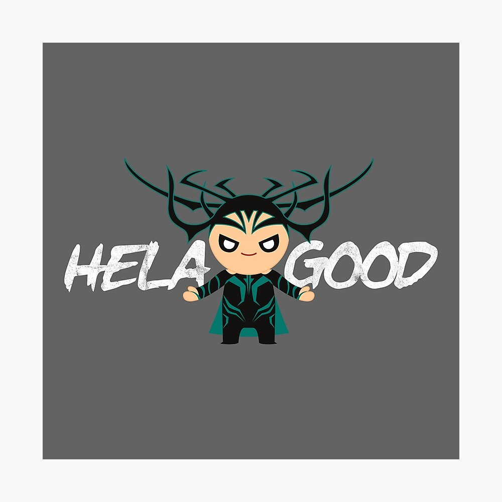 Thor Hela Vinyl Decal