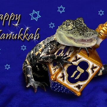 Hanukkah Alligator by jkartlife