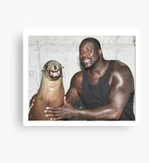 seal pic Canvas Print