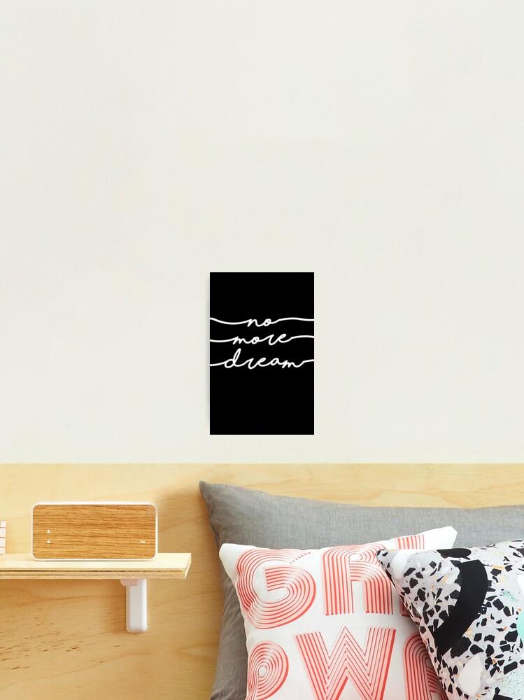 Bts No More Dream Schriftzug Design Fotodruck Von Impalecki