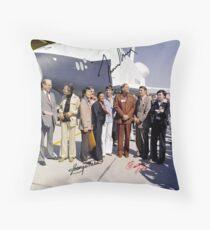 Leonard Nimoy - Mr Spock Signed Photo - Star Trek Crew autograph Throw Pillow