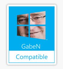 GabeN Compatible Sticker