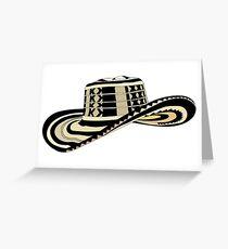 Sombrero Vueltiao Greeting Card