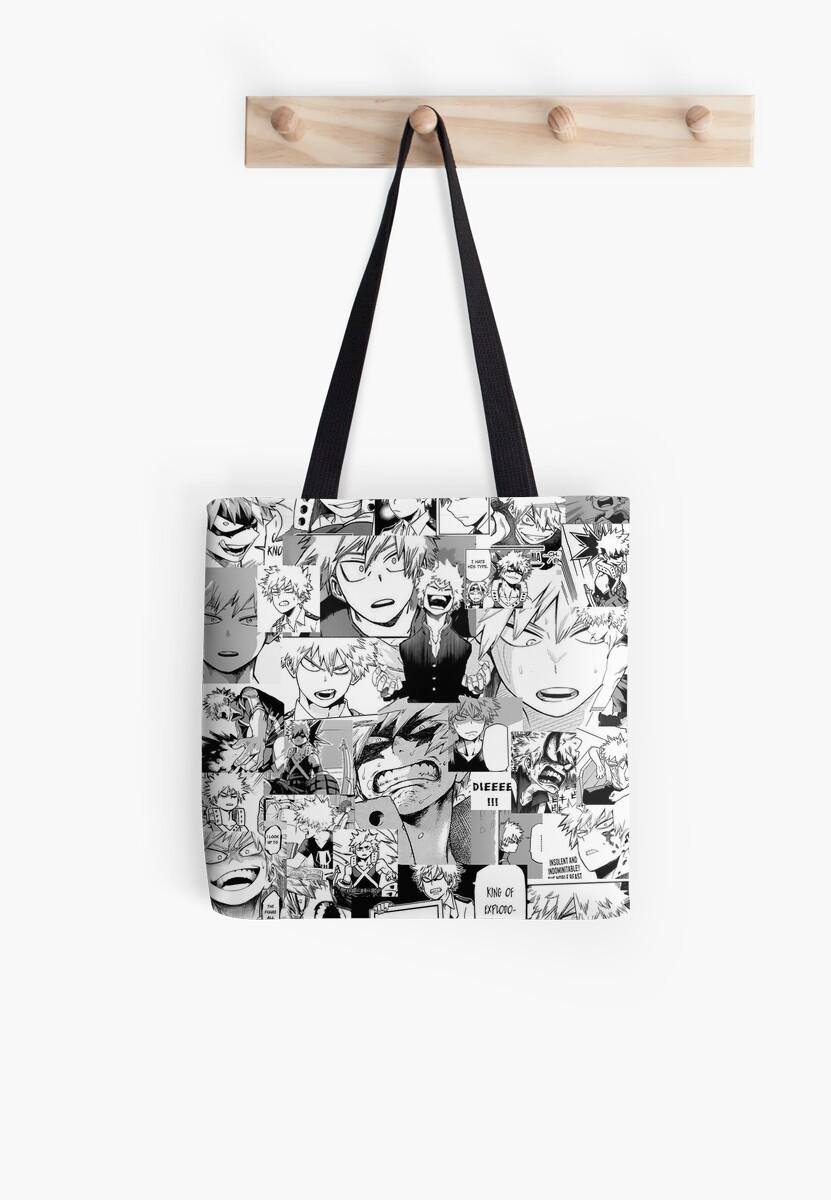 Bakugou Katsuki Collage Tote Bag