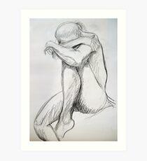 lifedrawing 11 Art Print