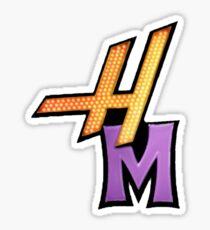 "Hannah Montana ""HM"" Logo  Sticker"