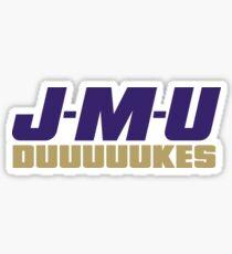 First Down JMU Dukes Sticker
