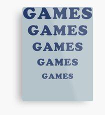 Adventureland - Games Metal Print