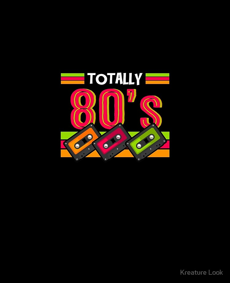 Totally 80s | 80s theme gift | 80s neon tshirt | rad dad shirt | 80s dad |  retro graphic tee | eighties party | 80s theme party | retro graphic tshirt
