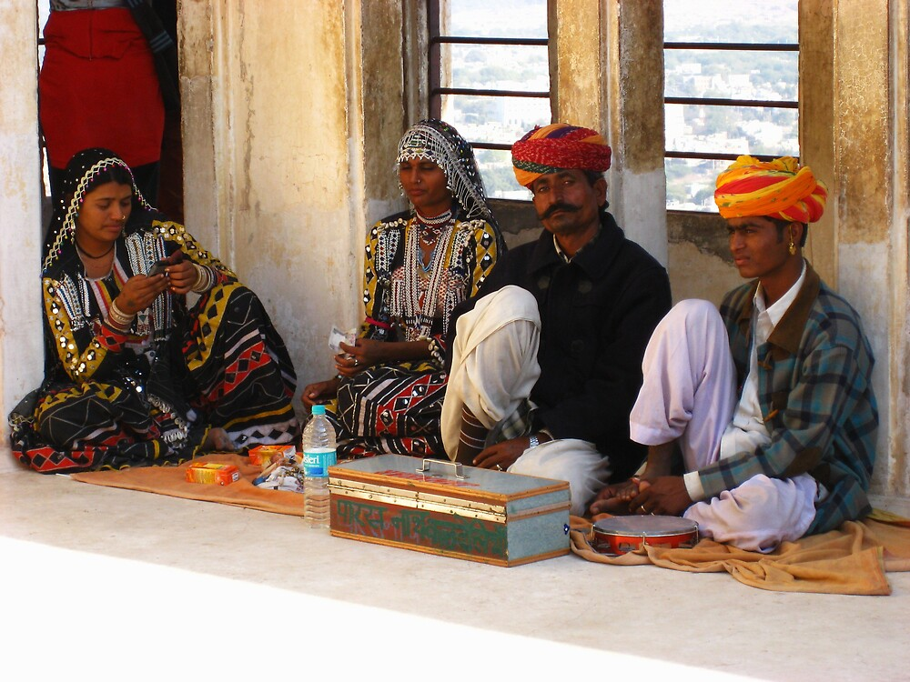 The entertainers at Mehrangarh Fort by mypics4u
