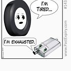 Cartoon : Tired and Exhausted by cartoon