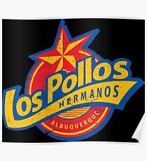 SLOGAN LOS POLLOS Poster