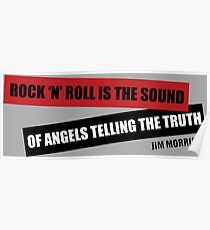 ROCK N ROLL IS THE SOUND Poster