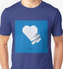 Paper heart with ribbon T-Shirt