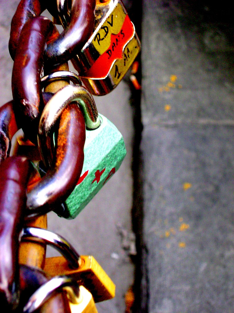 Florence Love Locks by Lacy  branch