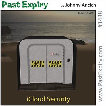 Cartoon :  iCloud Security by cartoon