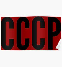 Slogan CCCP Poster