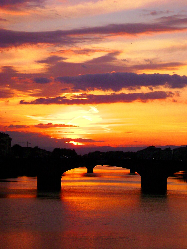 Florence Sunset #2 by Lacy  branch