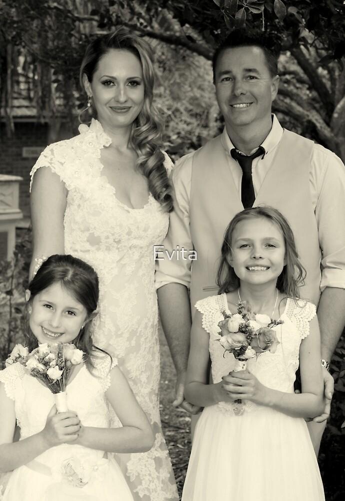 Familienporträt von Evita