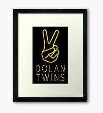 the dolan twins Framed Print